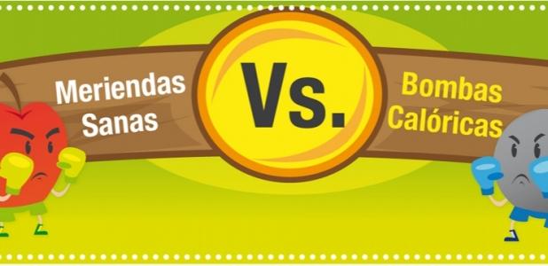 Meriendas Sanas vs. Bombas Calóricas