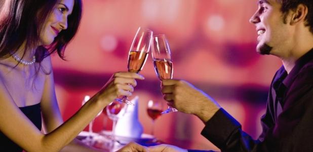 Radigrafía de una cena romántica